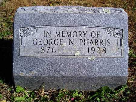 PHARRIS, GEORGE NEWTON - Madison County, Arkansas | GEORGE NEWTON PHARRIS - Arkansas Gravestone Photos