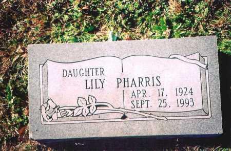 PHARRIS, LILY - Madison County, Arkansas | LILY PHARRIS - Arkansas Gravestone Photos