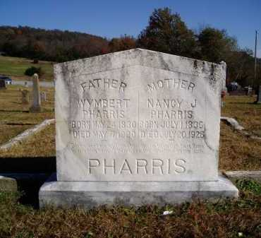SMITH PHARRIS, NANCY JANE BELLE - Madison County, Arkansas | NANCY JANE BELLE SMITH PHARRIS - Arkansas Gravestone Photos