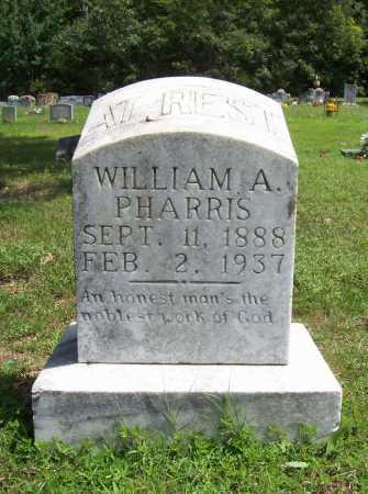 PHARRIS, WILLIAM ARTHUR SR. - Madison County, Arkansas | WILLIAM ARTHUR SR. PHARRIS - Arkansas Gravestone Photos