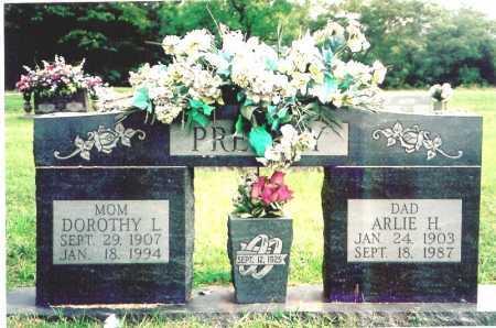 PRESLEY, ARLIE H. - Madison County, Arkansas | ARLIE H. PRESLEY - Arkansas Gravestone Photos