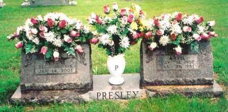 PRESLEY, ARVIL - Madison County, Arkansas | ARVIL PRESLEY - Arkansas Gravestone Photos