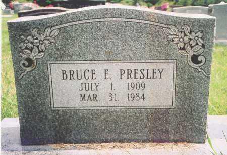 PRESLEY, BRUCE E. - Madison County, Arkansas   BRUCE E. PRESLEY - Arkansas Gravestone Photos