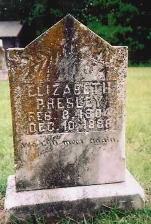 PRESLEY, ELIZABETH - Madison County, Arkansas | ELIZABETH PRESLEY - Arkansas Gravestone Photos