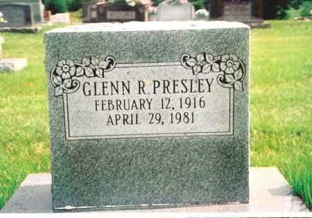 PRESLEY, GLENN R. - Madison County, Arkansas | GLENN R. PRESLEY - Arkansas Gravestone Photos