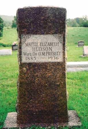 PRESLEY, MATTIE ELIZABETH - Madison County, Arkansas | MATTIE ELIZABETH PRESLEY - Arkansas Gravestone Photos