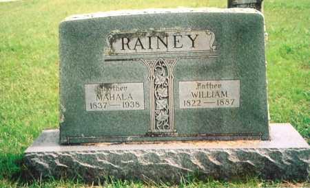 RAINEY, MAHALA - Madison County, Arkansas | MAHALA RAINEY - Arkansas Gravestone Photos