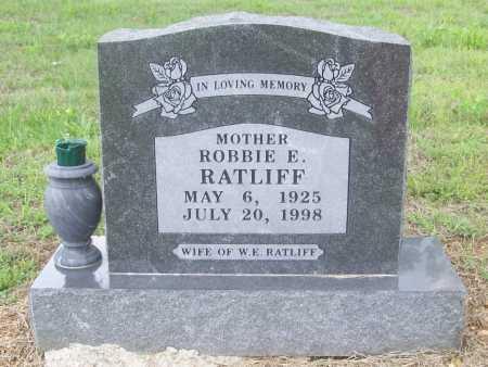 RATLIFF, ROBBIE E. - Madison County, Arkansas | ROBBIE E. RATLIFF - Arkansas Gravestone Photos