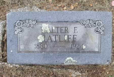 RATLIFF, WALTER F. - Madison County, Arkansas | WALTER F. RATLIFF - Arkansas Gravestone Photos