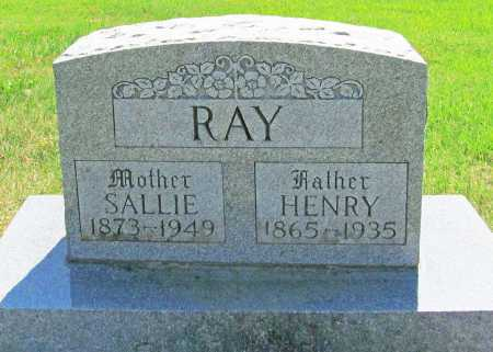RAY, SALLIE - Madison County, Arkansas | SALLIE RAY - Arkansas Gravestone Photos