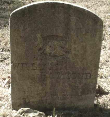 RAYMOND, WILLIAM - Madison County, Arkansas   WILLIAM RAYMOND - Arkansas Gravestone Photos