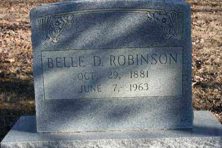 ROBINSON, BELLE D. - Madison County, Arkansas | BELLE D. ROBINSON - Arkansas Gravestone Photos