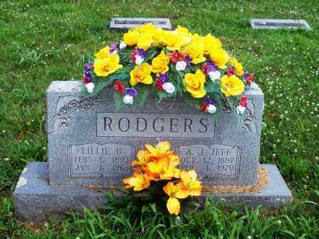 "RODGERS, A.  J. ""JEFF"" - Madison County, Arkansas 