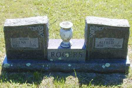 ROGERS, ALFRED J. - Madison County, Arkansas | ALFRED J. ROGERS - Arkansas Gravestone Photos