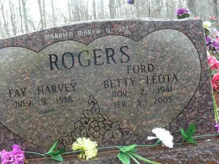 ROGERS, BETTY LEOTA - Madison County, Arkansas | BETTY LEOTA ROGERS - Arkansas Gravestone Photos