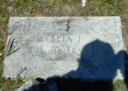 ROGERS, CLETA J. - Madison County, Arkansas | CLETA J. ROGERS - Arkansas Gravestone Photos