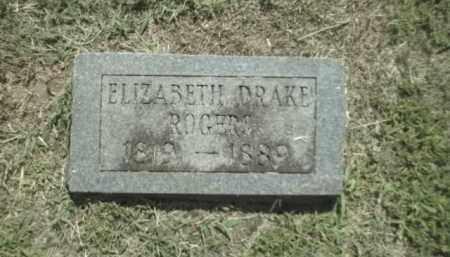 DRAKE ROGERS, ELIZABETH - Madison County, Arkansas | ELIZABETH DRAKE ROGERS - Arkansas Gravestone Photos
