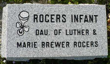 ROGERS, INFANT DAUGHTER - Madison County, Arkansas | INFANT DAUGHTER ROGERS - Arkansas Gravestone Photos