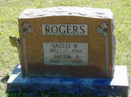 ROGERS, SALLIE W. - Madison County, Arkansas | SALLIE W. ROGERS - Arkansas Gravestone Photos
