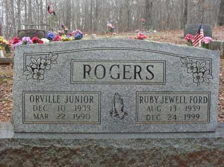 ROGERS, RUBY JEWELL - Madison County, Arkansas | RUBY JEWELL ROGERS - Arkansas Gravestone Photos