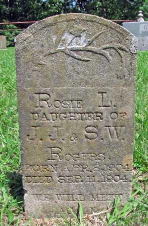 ROGERS, ROSIE L. - Madison County, Arkansas | ROSIE L. ROGERS - Arkansas Gravestone Photos