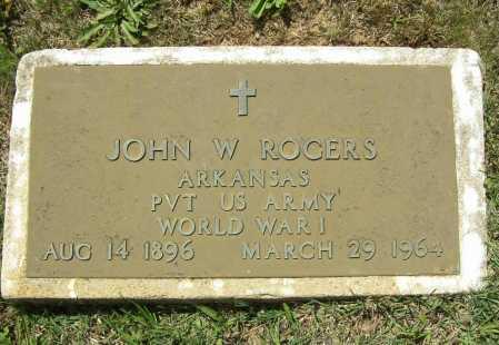 "ROGERS (VETERAN WWI), JOHN WESLEY ""JOHNNIE"" - Madison County, Arkansas | JOHN WESLEY ""JOHNNIE"" ROGERS (VETERAN WWI) - Arkansas Gravestone Photos"