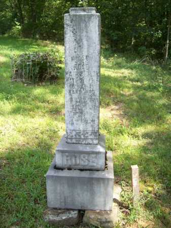 ROSE (VETERAN) UNION, WILSON - Madison County, Arkansas | WILSON ROSE (VETERAN) UNION - Arkansas Gravestone Photos