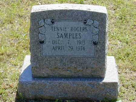 ROGERS SAMPLES, TENNIE IVY - Madison County, Arkansas | TENNIE IVY ROGERS SAMPLES - Arkansas Gravestone Photos