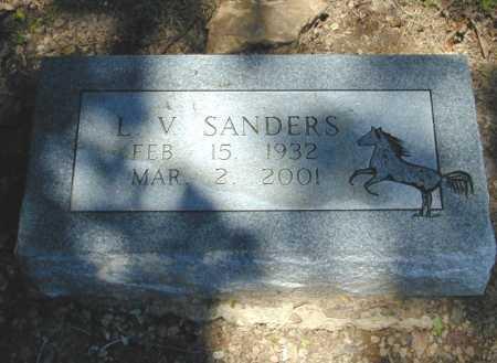 SANDERS, L. V. - Madison County, Arkansas | L. V. SANDERS - Arkansas Gravestone Photos