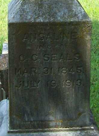 SEALS, ANGALINE (CLOSEUP) - Madison County, Arkansas   ANGALINE (CLOSEUP) SEALS - Arkansas Gravestone Photos