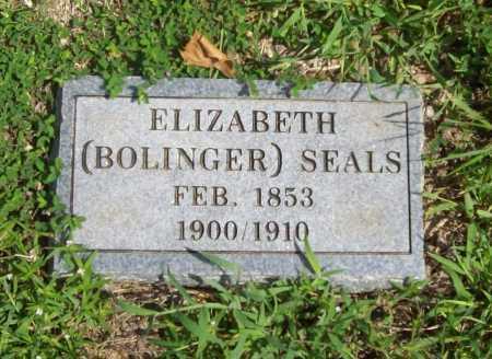 BOLINGER SEALS, ELIZABETH - Madison County, Arkansas   ELIZABETH BOLINGER SEALS - Arkansas Gravestone Photos
