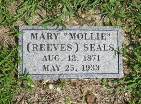 """REEVES SEALS, MARY """"MOLLIE"""" - Madison County, Arkansas 