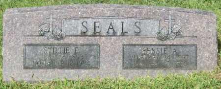 SEALS, STILLIE E. - Madison County, Arkansas | STILLIE E. SEALS - Arkansas Gravestone Photos