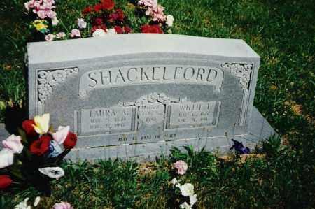 SHACKELFORD, WILLIE T. - Madison County, Arkansas | WILLIE T. SHACKELFORD - Arkansas Gravestone Photos