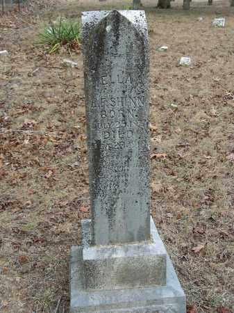 ANDERSON SHINN, ELLA - Madison County, Arkansas   ELLA ANDERSON SHINN - Arkansas Gravestone Photos