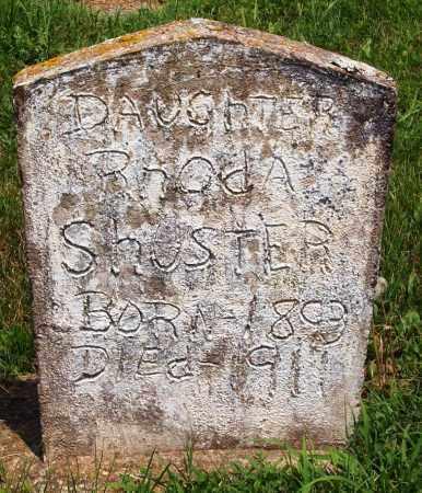 SHUSTER, RHODA - Madison County, Arkansas | RHODA SHUSTER - Arkansas Gravestone Photos