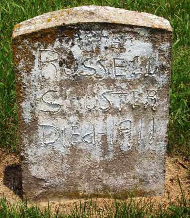 SHUSTER, RUSSELL - Madison County, Arkansas | RUSSELL SHUSTER - Arkansas Gravestone Photos