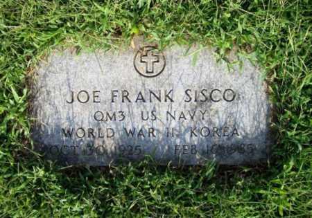 SISCO (VETERAN 2 WARS), JOE FRANK - Madison County, Arkansas | JOE FRANK SISCO (VETERAN 2 WARS) - Arkansas Gravestone Photos