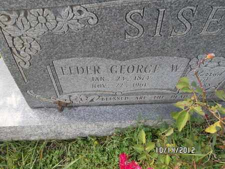 SISEMORE, GEORGE - Madison County, Arkansas | GEORGE SISEMORE - Arkansas Gravestone Photos