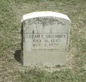 SCOTT SISEMORE, SARAH E. - Madison County, Arkansas | SARAH E. SCOTT SISEMORE - Arkansas Gravestone Photos