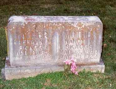 ADAMS SKAGGS, NANCY - Madison County, Arkansas | NANCY ADAMS SKAGGS - Arkansas Gravestone Photos