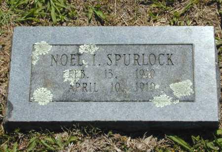 SPURLOCK, NOEL I. - Madison County, Arkansas | NOEL I. SPURLOCK - Arkansas Gravestone Photos