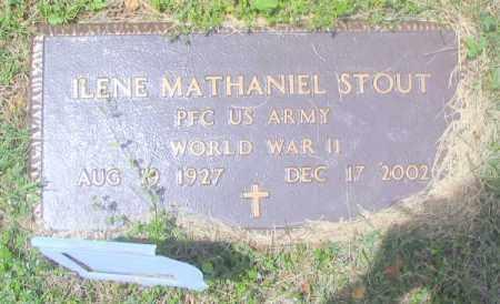 "STOUT (VETERAN WWII), ILENE MATHANIEL ""BUD"" - Madison County, Arkansas | ILENE MATHANIEL ""BUD"" STOUT (VETERAN WWII) - Arkansas Gravestone Photos"