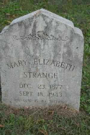 STRANGE, MARY ELIZABETH - Madison County, Arkansas | MARY ELIZABETH STRANGE - Arkansas Gravestone Photos
