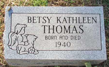 THOMAS, BETSY KATHLEEN - Madison County, Arkansas   BETSY KATHLEEN THOMAS - Arkansas Gravestone Photos