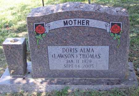 THOMAS, DORIS ALMA - Madison County, Arkansas | DORIS ALMA THOMAS - Arkansas Gravestone Photos