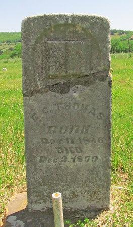 THOMAS, E C - Madison County, Arkansas | E C THOMAS - Arkansas Gravestone Photos