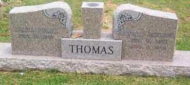 THOMAS, EDWARD MURRELL - Madison County, Arkansas | EDWARD MURRELL THOMAS - Arkansas Gravestone Photos