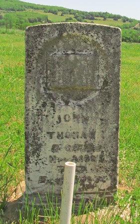 THOMAS, JOHN - Madison County, Arkansas | JOHN THOMAS - Arkansas Gravestone Photos