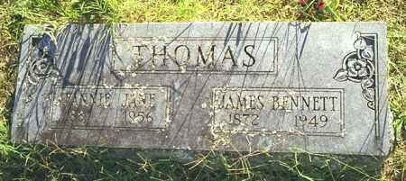 THOMAS, FANNIE JANE - Madison County, Arkansas | FANNIE JANE THOMAS - Arkansas Gravestone Photos